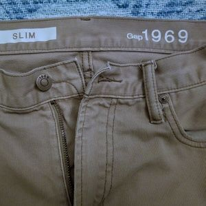Gap Jeans Slim 32 x 32 Burlwood Brown